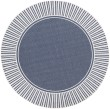 Product Image of Denim, White Outdoor / Indoor Area Rug