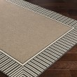 Product Image of Camel, Black Outdoor / Indoor Area Rug