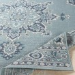 Product Image of Charcoal, Teal Outdoor / Indoor Area Rug