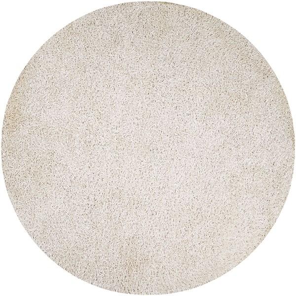 White (VIV-803) Solid Area Rug