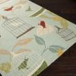 Product Image of Vanilla, Egg Blue, Carnelian Outdoor / Indoor Area Rug