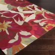 Product Image of Cherry, Burgundy, Ivory Outdoor / Indoor Area Rug