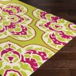 Product Image of Lime, Bright Pink, Cream Outdoor / Indoor Area Rug