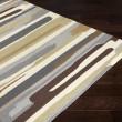 Product Image of Cream, Medium Gray, Charcoal Outdoor / Indoor Area Rug