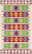 Product Image of Emerald, Bright Pink, Lime Outdoor / Indoor Area Rug
