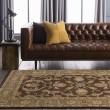 Product Image of Dark Brown, Burnt Orange, Tan, Charcoal Traditional / Oriental Area Rug