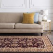 Product Image of Burgundy, Khaki, Dark Red, Charcoal, Tan Traditional / Oriental Area Rug