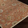 Product Image of Burnt Orange, Camel, Khaki, Aqua, Tan Traditional / Oriental Area Rug