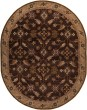Product Image of Dark Brown, Camel, Rust, Black Traditional / Oriental Area Rug