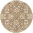 Product Image of Cream, Camel, Sea Foam, Dark Green Traditional / Oriental Area Rug