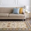 Product Image of Bright Yellow, Denim, Camel, Burnt Orange Traditional / Oriental Area Rug