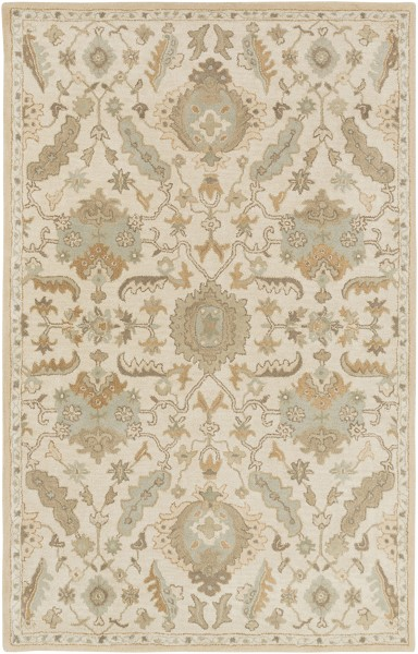 Beige, Tan, Taupe Traditional / Oriental Area Rug