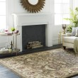 Product Image of Dark Brown, Sage, Bright Red, Black Traditional / Oriental Area Rug