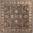 Product Image of Charcoal, Pale Blue, Camel, Peach Traditional / Oriental Area Rug