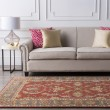 Product Image of Rust, Charcoal, Mustard, Dark Brown Traditional / Oriental Area Rug