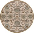 Product Image of Medium Gray, Beige, Dark Brown, Charcoal Traditional / Oriental Area Rug