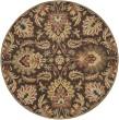 Product Image of Dark Brown, Garnet, Camel, Wheat, Black Traditional / Oriental Area Rug