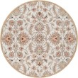 Product Image of Blush, Camel, Taupe, Black, Teal Traditional / Oriental Area Rug