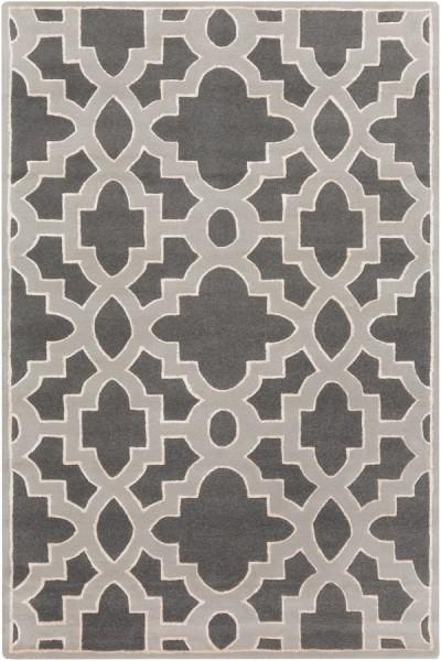 Moss, Light Gray, Ivory Contemporary / Modern Area Rug