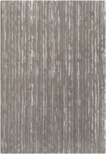 Gray, Slate, Light Gray Transitional Area Rug