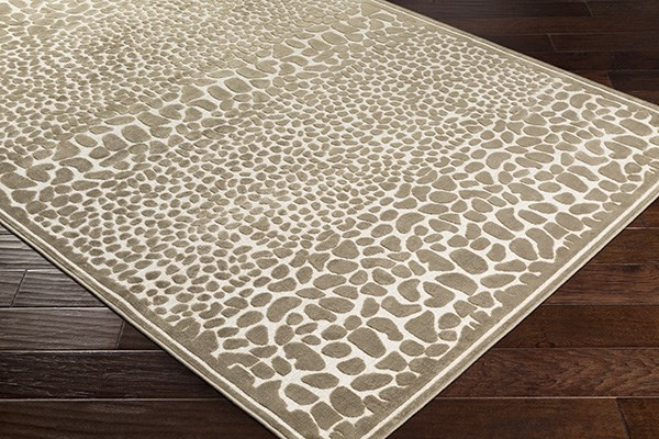 Butter, Taupe Animals / Animal Skins Area Rug