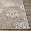 Product Image of Taupe, Beige Contemporary / Modern Area Rug