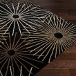 Product Image of Black, Brown Contemporary / Modern Area Rug