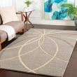 Product Image of Grey, Cream, Camel Contemporary / Modern Area Rug
