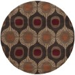 Product Image of Dark Brown, Peanut Butter, Auburn Contemporary / Modern Area Rug