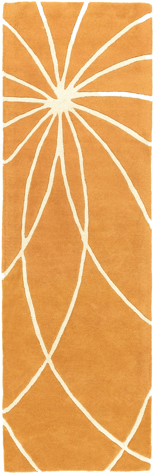 Carmine, Antique White Contemporary / Modern Area Rug