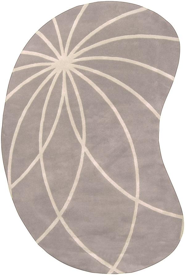 Bay Leaf, Antique White Transitional Area Rug