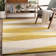 Product Image of Gold, Ivory Contemporary / Modern Area Rug