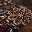 Product Image of Dark Brown, Rust, Burnt Orange, Camel Floral / Botanical Area Rug