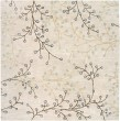 Product Image of Taupe, Dark Brown, Camel, Medium Gray Floral / Botanical Area Rug