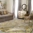 Product Image of Ivory, Butter, Taupe, Lime Floral / Botanical Area Rug