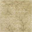Product Image of Tan, Taupe, Olive, Camel Floral / Botanical Area Rug