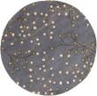 Product Image of Navy, Dark Brown, Tan, Beige, Green Floral / Botanical Area Rug