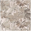 Product Image of Light Gray, Khaki, Dark Brown, Beige Floral / Botanical Area Rug