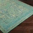 Product Image of Teal, Emerald, Olive, Dark Green Traditional / Oriental Area Rug