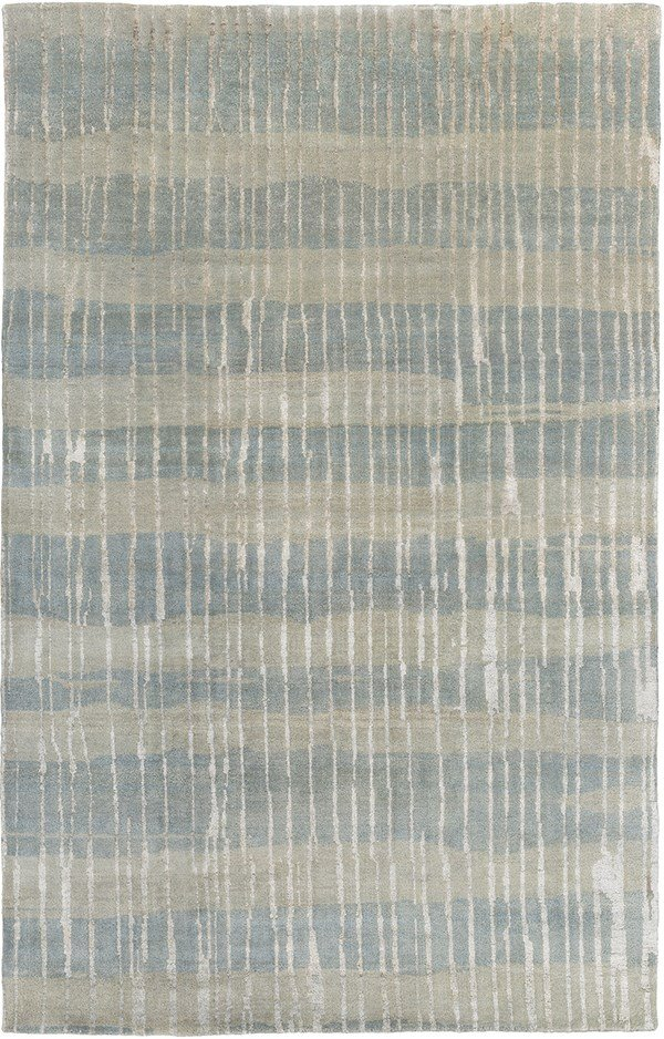 Moss, Beige Transitional Area Rug