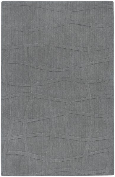 Gray Casual Area Rug