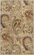 Product Image of Ivory, Red Paisley Area Rug