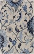 Product Image of Khaki, Black, Dark Blue, Taupe Floral / Botanical Area Rug