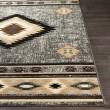 Product Image of Grey, Black, Beige Southwestern / Lodge Area Rug