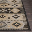 Product Image of Charcoal Gray, Barley, Light Gray Southwestern / Lodge Area Rug