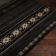 Product Image of Coal Black, Pewter, Safari Tan Southwestern / Lodge Area Rug