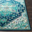 Product Image of Teal, Dark Blue, Aqua Traditional / Oriental Area Rug