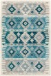 Product Image of Southwestern / Lodge Aqua, Teal, Dark Blue (PRG-1121) Area Rug
