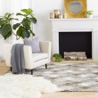 Product Image of Camel, Taupe, Light Gray, Dark Brown, Cream Transitional Area Rug