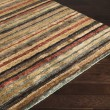 Product Image of Tan, Beige (TND-1120) Striped Area Rug